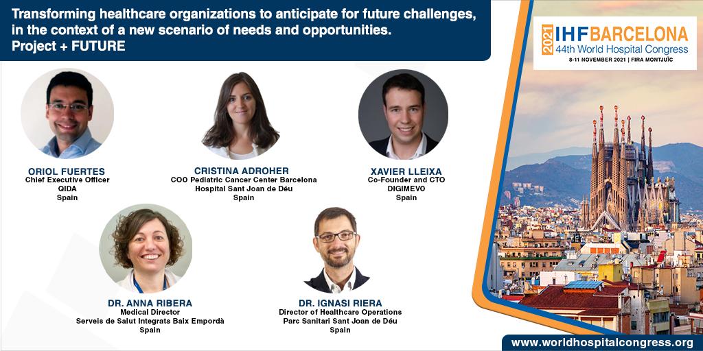 Taula +FUTUR al Congrés Mundial d'Hospitals